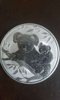 2018 Australia 2 oz Silver Koala The Next Generation