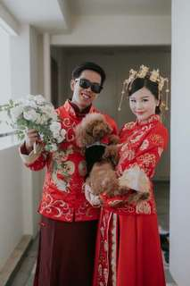 RENTAL: Traditional Chinese Wedding Gowns (Male & Female)