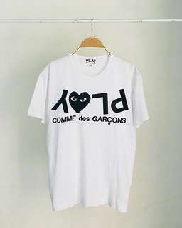 CDG PLAY TEE | authentic