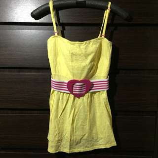 Candies Yellow Blouse