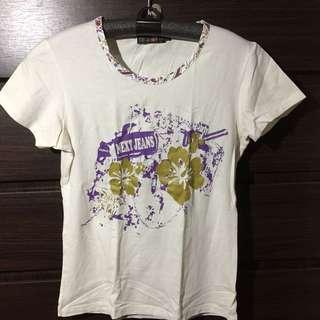 White BUM tshirt
