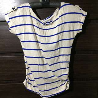 Stripes loose tshirt
