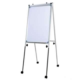 Conference Flip Chart FC23R - 111-198H x 66W x 61-98D - White