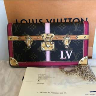 👉NEW - LV Pouchette Weekend Trunk #tfc