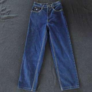 🚚 🇺🇸90s美國製POLO RALPH LAUREN原色復古高腰直筒牛仔褲 男女皆可Vintage 古著老品
