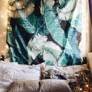 Tropical style wall hanging