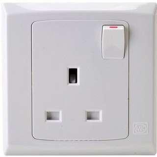 MK brand single socket