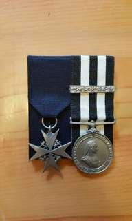 聖約翰救傷隊長期服務獎章連5年bar及5級勳銜 copy