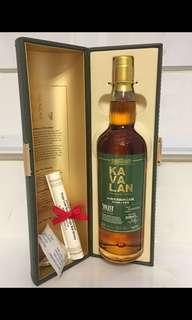 台灣威士忌 噶瑪蘭經典獨奏波本桶威士忌原酒 700ml 58.6%vol