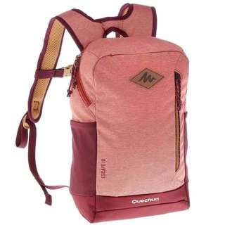 Tas Backpack Original Quechua N Hiking 10L Salmon