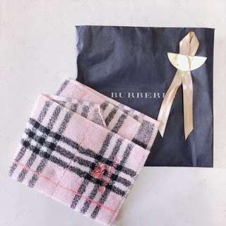Burberry 方形毛巾