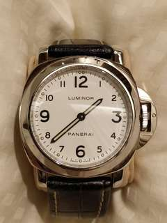 Luminor Panerai PAM 114 White Dial