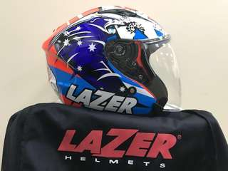 Lazer JH3 Tasmani Devil helmet