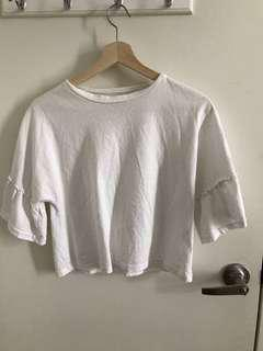 The editor's market white crop top