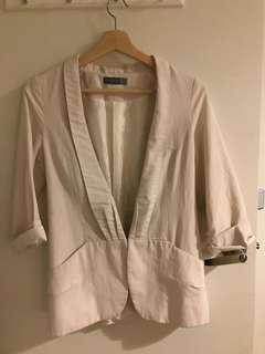 Forcast White stylish blazer