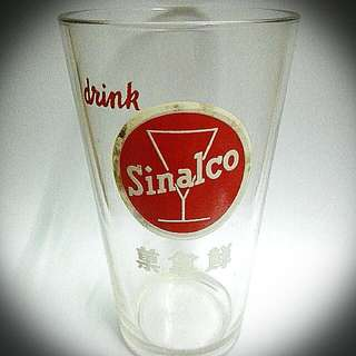 Sinalco Glasses