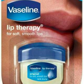Vaseline lip therapy original / pelembab bibir kering / lip balm / vitamin bibir