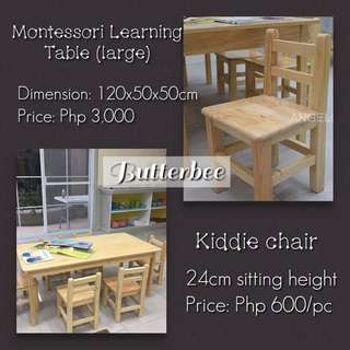 Montessori Learning Table (large)