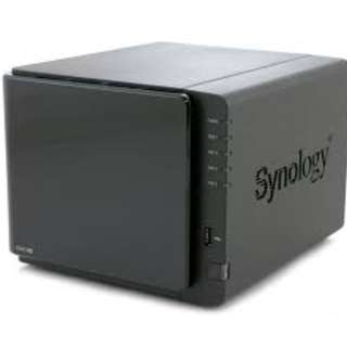 * 1x 3TB HDD + SYNOLOGY DS 412+, 4-Bay Network Attached Storage (NAS)