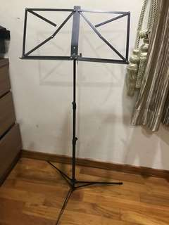 Music stand foldable.Height adjustable