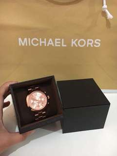 Michael Kors Watch Rose Gold 100% ORIGINAL
