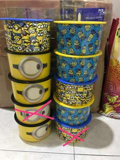Tupperware minion one touch (T&C)
