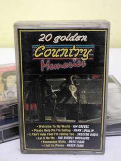 Kaset 20 GOLDEN COUNTRY MEMORIES