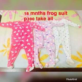 Frogsuit  18-24 months