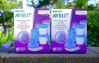 Avent Storage Cup 10pcs (6 ounces)