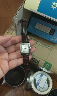 🚚 降價!新品Casio方形手錶現貨黑錶鏡
