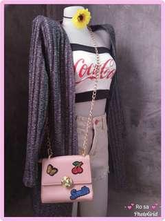 Orig How r u / chain sling bag