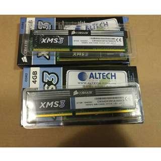 Corsair XMS DDR3-1600 4GB X 2