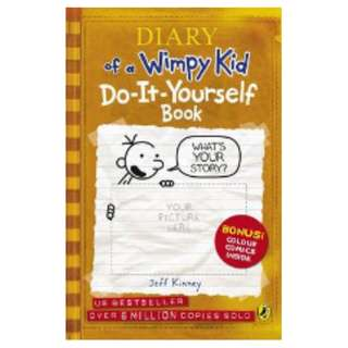 Diary of a Wimpy Kid Do-it-yourself Book  by Jeff Kinney [Paperback]