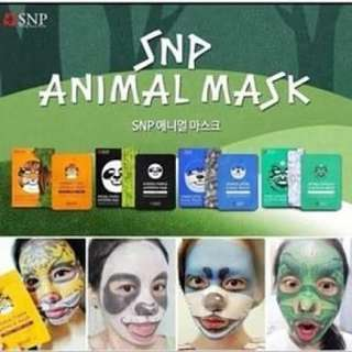 Masker snp animal karakter mask