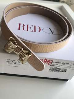 Red Valentino Patent Leather Belt