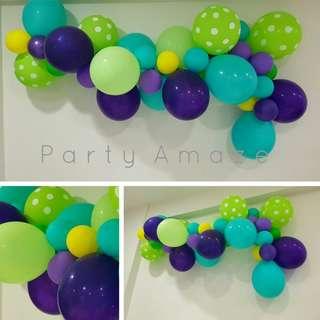 CHARTREUSE PoP Balloon Garland Set