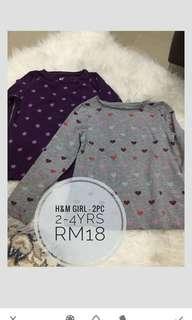 H&M Girl - 2pc