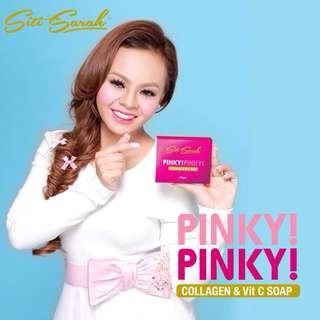 Siti Sarah Pinky Pinky Collagen & Vit C Soap - 100gm