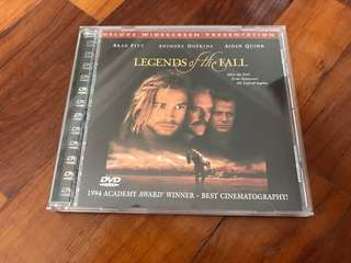 🚚 legends of the fall - early edition dvd in jewel case