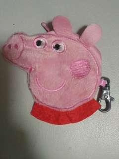 粉紅豬小妹peppa pig小袋子/散銀包