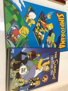 🚚 simpsons comic book plus dvd