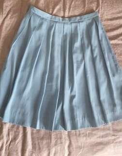 Beautiful Uniqlo blue skirt