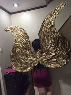 GILDED Victoria's Secret Wings
