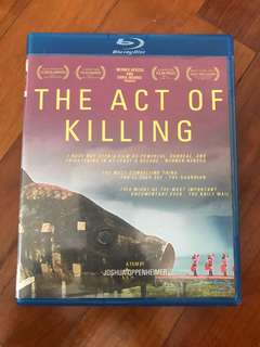 🚚 the act of killing bluray