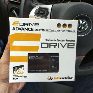 全新 Shadow  E-DRIVE 電子油門加速器 Golf  5 6 7代 用! 3種模式   競技7段   原廠    省油9段