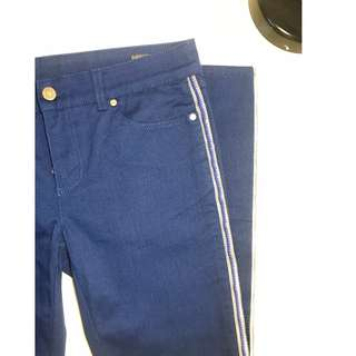 Alexander McQueen Blue Women Pants