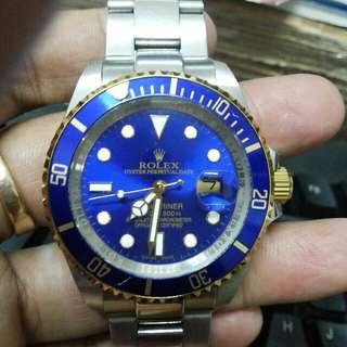 Rolex Ring Blue Istimewa