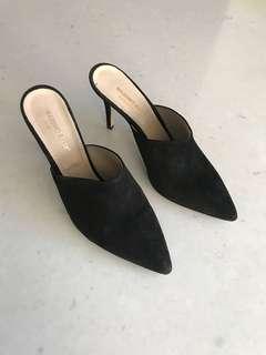 Massimo Baldi Black Heels