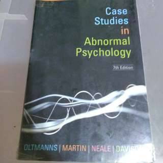 Abnormal Psychology case studies