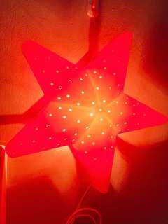 Night Lamp Red Star